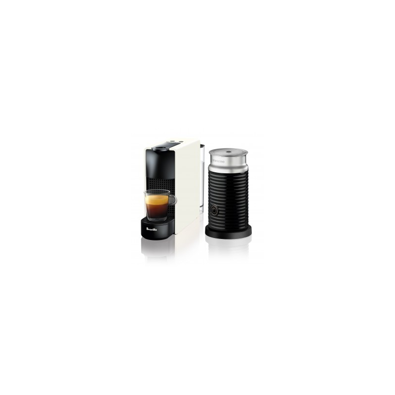 Breville Nespresso Essenza Mini Bundle White Buy Online