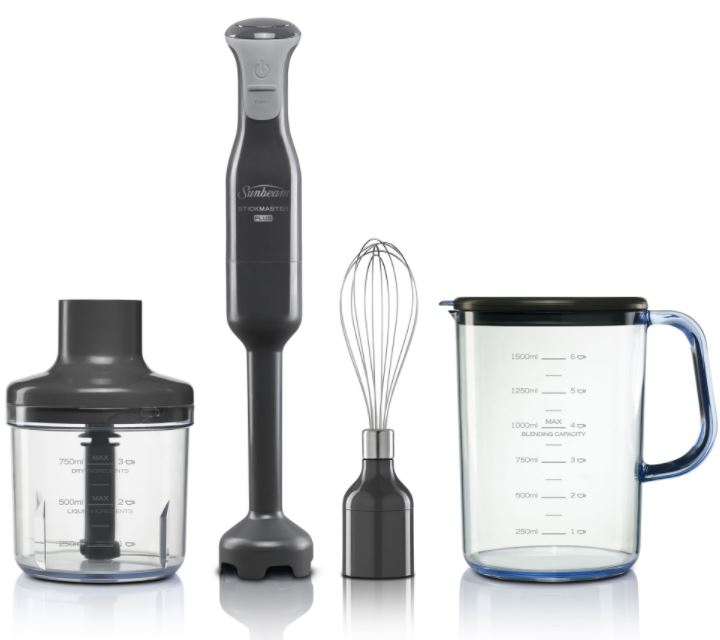 Sunbeam Slow Juicer Nz : Sunbeam StickMaster Plus - Buy Online - Heathcote Appliances