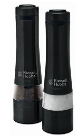 Russell Hobbs Salt and Pepper Mills - Black - Buy Online - Heathcote Appliances