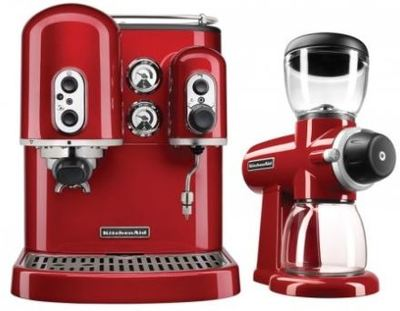 Miele Coffee Maker Grinder Problems : KitchenAid Espresso Machine and Burr Grinder Duo - Buy Online - Heathcote Appliances