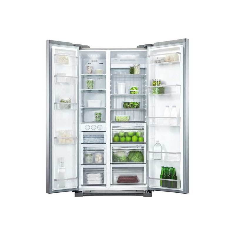 Fisher Amp Paykel 628l Side By Side Fridge Stainless Steel