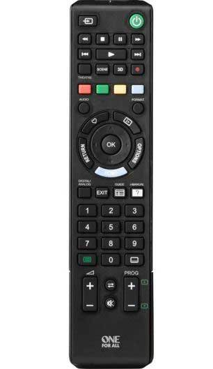 One For All Sony Replacement Remote Control URC1912