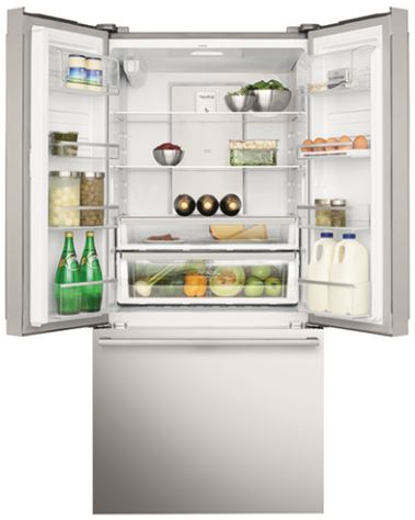 Electrolux 524l French Door Refrigerator Stainless Steel