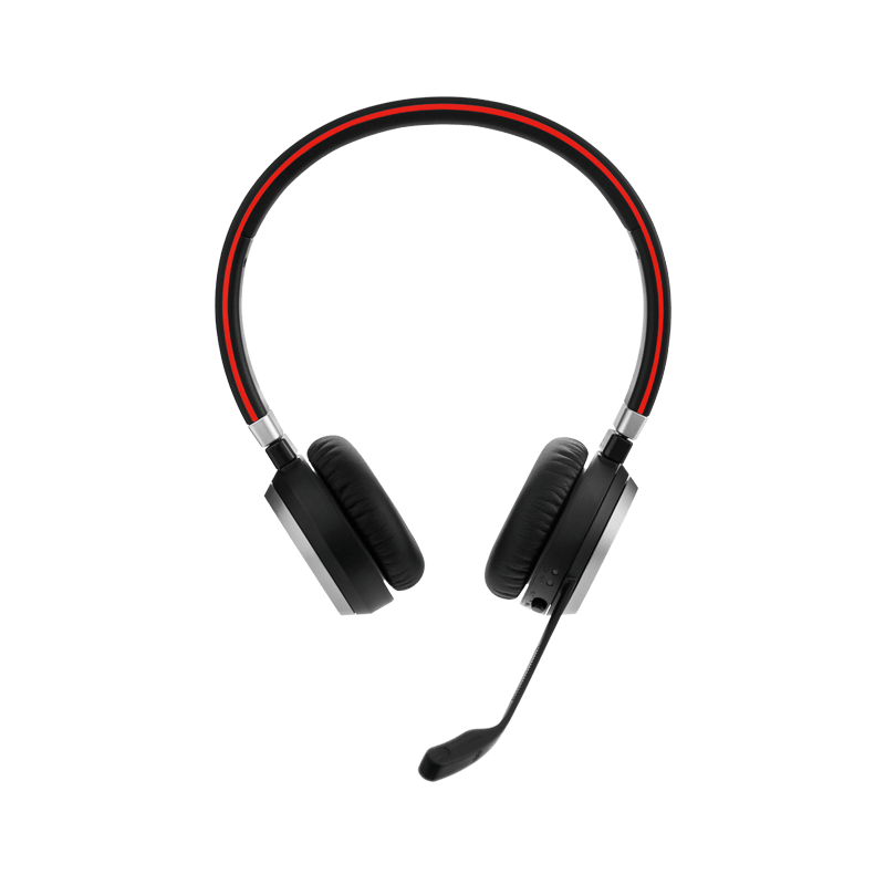 Jabra Evolve 65 Uc Mono Wireless Headset With Jabra Link: Jabra Evolve 65 UC Mono Headset With Charging Stand