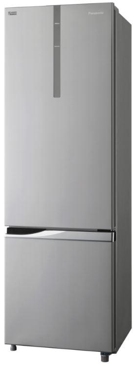 Panasonic 342l Bottom Mount Refrigerator Stainless Steel