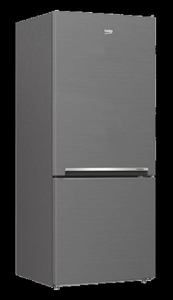Beko 407l Bottom Mount Fridge Freezer Platinum Buy
