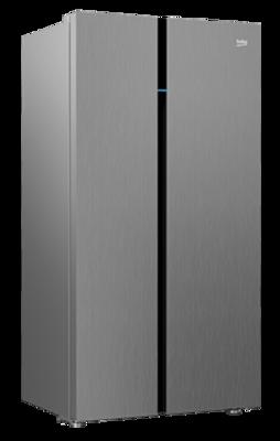 Beko 641l Side By Side Fridge Stainless Steel Buy Online