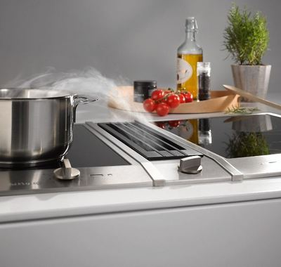 miele proline induction cooktop with downdraft extractor buy online heathcote appliances. Black Bedroom Furniture Sets. Home Design Ideas