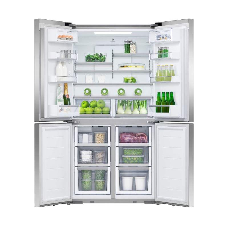 Fisher Amp Paykel 605l Quad Door Fridge Freezer Buy Online