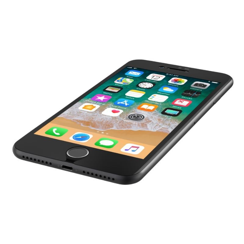 the latest b450d 4be33 Belkin iPhone 8 Plus/7 Plus ScreenForce TemperedCurve Screen Protector Black