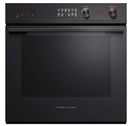 fisherpaykel 60cm 11 function pyrolytic built in oven 85L OB60SD11PB1