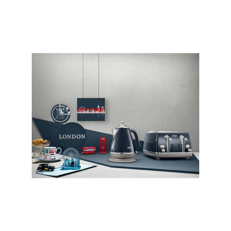 De Longhi Icona Capitals Kettle London Blue Buy Online
