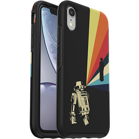 Otter Symmetry Series Galactic Collection Case for iPhone XR 1