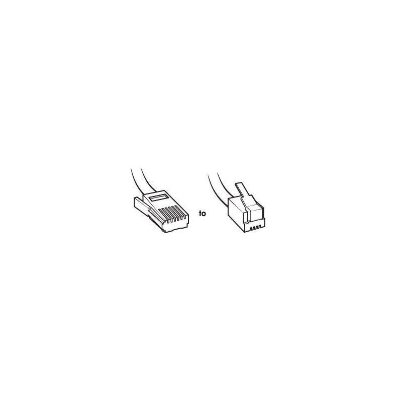 Magnificent Pudney Nz Plug To Rj11 Plug 2 Wire Crosswired 2M Buy Online Wiring 101 Vieworaxxcnl