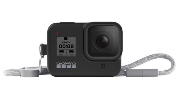 Image of GoPro HERO8 Black Sleeve + Lanyard (Hero 8) Black