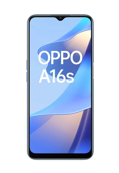 CPH2271 BLU Oppo A16 Phone Pearl Blue %281%29